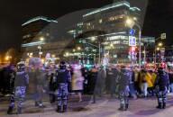 NEWS - Russland: Unterstützer des Oppositionellen Navalny protestieren in Moskau