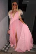PEOPLE - Paris Hilton besucht mit ihrem Verlobten Carter Reum eine Oscars-Pre-Party