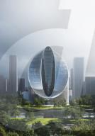 FEATURE -  Riesiger 0-förmiger Turm soll Wahrzeichen für chinesischen Tech-Riesen OPPO werden