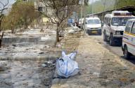 NEWS - Coronavirus: Einäscherung von Covid-19-Opfern, Ghaziabad, Uttar Pradesh, Indien