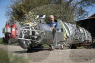 FEATURE - Motorrad mit Flugzeugtriebwerk will Speed-Rekord brechen