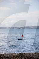 FEATURE -  Einmal um die ganze Insel: Brendon Prince will die britische Insel umfahren - auf auf Stand Up Paddle Board