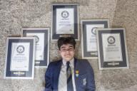 FEATURE -  Der jüngste Stipendiat der Royal Society of the Arts: Monty Lord sammelt Guinness-Book-Rekorde