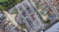 FEATURE - Wenn man sonst nichts zu tun hat: Gareth Wild aus Bromley hat innerhalb von sechs Jahren auf jedem der 211 Parkplätzen seines Sainbury's Supermarktes geparkt