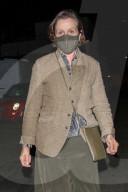 PEOPLE - Oscar-Preisträgerin Frances McDormand schaut bei Craig's zum Abendessen vorbei