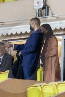 PEOPLE -  Tony Parker und neue Freundin Alizé Lim am Fussball-Spiel Monaco - Lyon