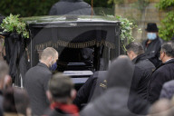 PEOPLE - Trauerfeier und Beerdigung von Willi Herren auf dem Melaten Friedhof