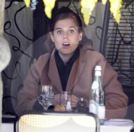 ROYALS - Prinzessin Beatrice diniert im Scott's Restaurant in Mayfair