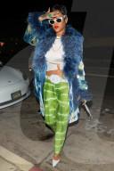 PEOPLE - Rihanna zeigt ihre neue Kurzhaarfrisur beim Abendessen bei Giorgio Baldi in Santa Monica