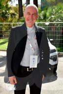 PEOPLE - Bertrand Piccard und Albert von Monaco begrüssen sich bei der Ausstellung Ever 2021 in Monaco