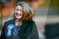 NEWS - UK: Die Konservative Jill Mortimer feiert ihren Sieg bei den Nachwahlen in Hartlepool