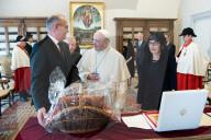 NEWS - Papst Franziskus empfängt Bundesrat Guy Parmelin im Vatikan