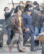 PEOPLE - Harry Styles beim Dreh für seinen neuen Film The Policeman