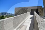 REPORTAGE - Wohneinheit Cité Radieuse von Le Corbusier in Marseille, erbaut 1951