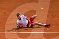 TENNIS - Roland Garros: Djokovic siegt gegen Musetti