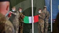 NEWS - Rückzug aus Afghanistan: Der italienische Verteidigungsminister Guerini besucht abziehende Soldaten in Herat