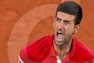 TENNIS - Roland Garros: Djokovic zieht ins Halbfinal ein