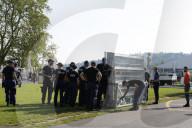 NEWS - Genf: Polizei um die Villa La Grange, wo Biden und Putin sich treffen werden