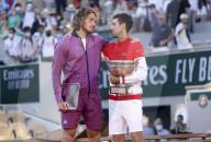 TENNIS - Stefanos Tsitsipas verliert gegen Novak Djokovic den Final des French Open 2021
