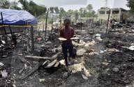 NEWS - Über 50 Baracken von Rohingya-Flüchtlinge durch Feuer in Neu Delhi zerstört