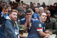 EURO 2020 - Schottische Fans beim Spiel Schottland gegen Tschechien 0:2