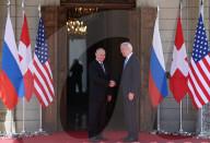 NEWS - Genf: Wladimir Putin und US-Präsident Joe Biden treffen ein