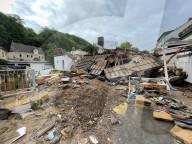 NEWS -  Der Morgen nach dem Unwetter in Deutschland: Verwüstung in Bad Münstereifel