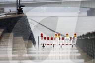 NEWS - Hochwasser am Rhein in Deutschland