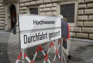 NEWS - Schweiz Hochwasser: Schutzmassnahmen in Luzern