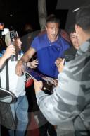 PEOPLE - Sylvester Stallone wird von Fans bedrängt