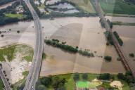 NEWS - Hochwasser Deutschland: Die Ruhr aus der Luft gesehen