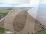 FEATURE - Deine Spuren im Sand: Ecken und Kreise am Brean Beach