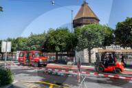 NEWS - Hochwasser Schweiz: Aufräumarbeiten in Luzern, Lage hat sich entspannt