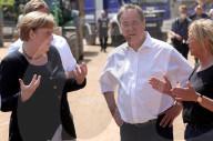 NEWS - Angela Merkel und NRW-Ministerpräsident Armin Laschet besuchen Bad Münstereifel