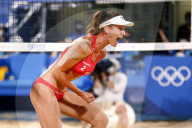 TOKIO 2020 OLY - Beachvolleyball Damen: Schweiz besiegt die Niederlande 2:0
