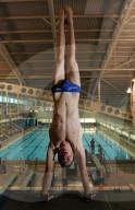 TOKIO 2020 OLY - Jugendbilder vom britischen Olympiasieger im Synchron-Turmspringen Matty Lee