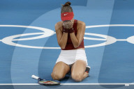 TOKIO 2020 OLY - Tennis: Belinda Bencic zieht ins Finale ein