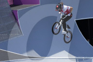 TOKIO 2020 OLY - BMX: Die Genferin Nikita Ducarroz holt Bronze im BMX-Freestyle