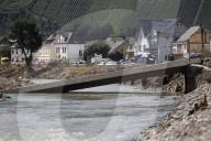 NEWS - Extreme Hochwasserschäden nach der Naturkatastrophe in der Eifel