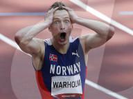 TOKIO 2020 OLY - Norweger Karsten Warholm pulverisert Weltrekord über 400m Hürden