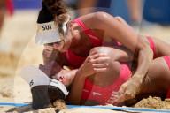 TOKIO 2020 OLY - Schweizerinnen Heidrich/Verge-Depre stehen im Beachvolley-Halbfinal