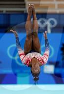 TOKIO 2020 OLY - Simone Biles (USA) gewinnt Bronze am Schwebebalken