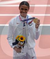 TOKIO 2020 OLY - Sydney McLaughlin gewinnt über 400m Hürden mit Weltrekord