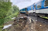 NEWS - Schweres Zugunglück im Südwesten Tschechiens