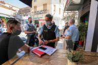 NEWS - Coronavirus: Kontrolle des Gesundheitspasses in den Restaurants und Bars von Calvi auf Korsika