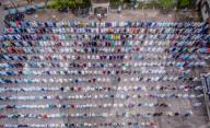 NEWS - Coronavirus: Beerdigung für Opfer der Pandemie in Bangladesch