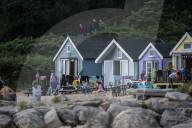 FEATURE - Eine Strandhütte in Dorset wird für den Rekordpreis von 350'000 Pfund angeboten