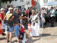 NEWS - Coronavirus: Demonstration der Massnahmenkritiker «Freiheitstrychler» in Olten