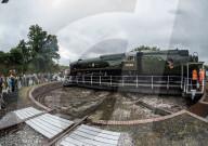 FEATURE - Auf der Drehscheibe: Eine der letzten funktionsfähigen Dampflokomotiven Grossbritanniens in Yeovil Junction