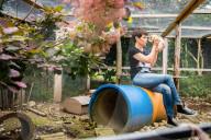 PORTRAIT - Francine Jordi besucht Tierheim in Gossau (Juli 2021)